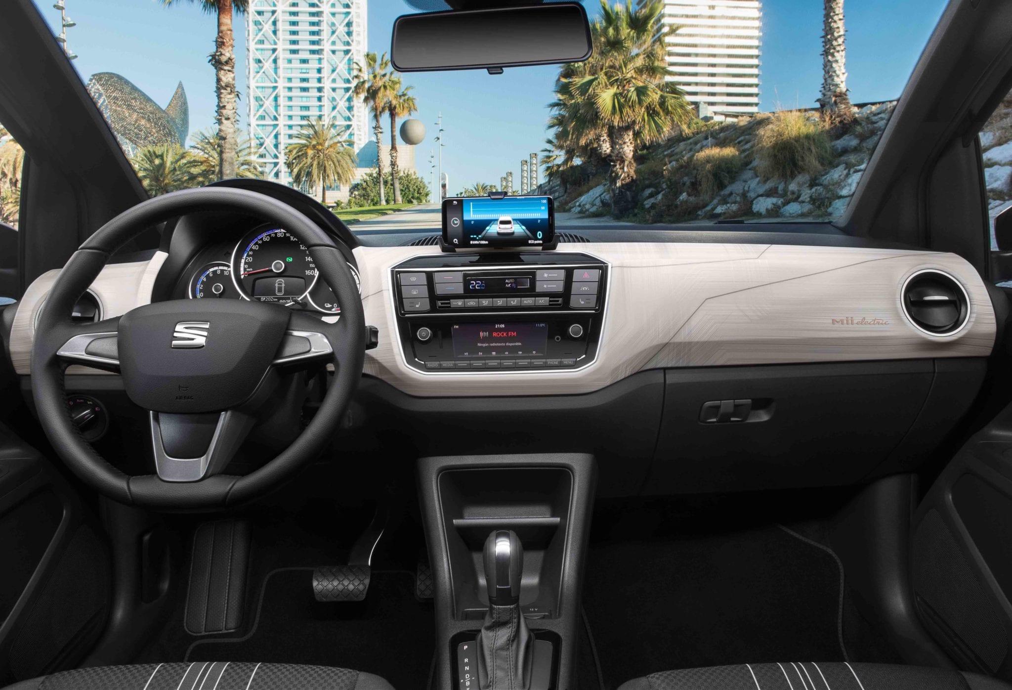 SEAT Mii diseño interior