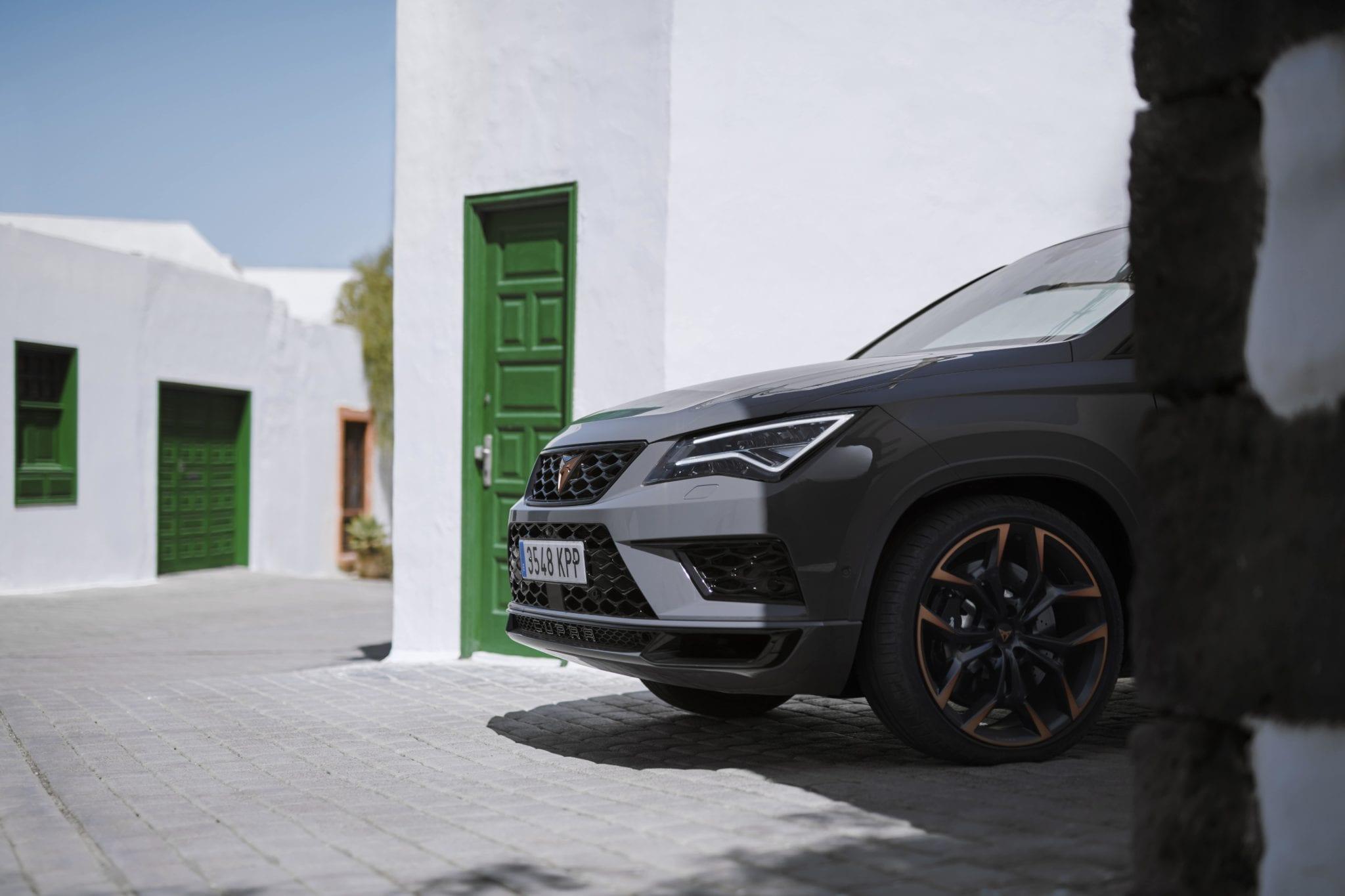 CUPRA Ateca Limited Edition delantera