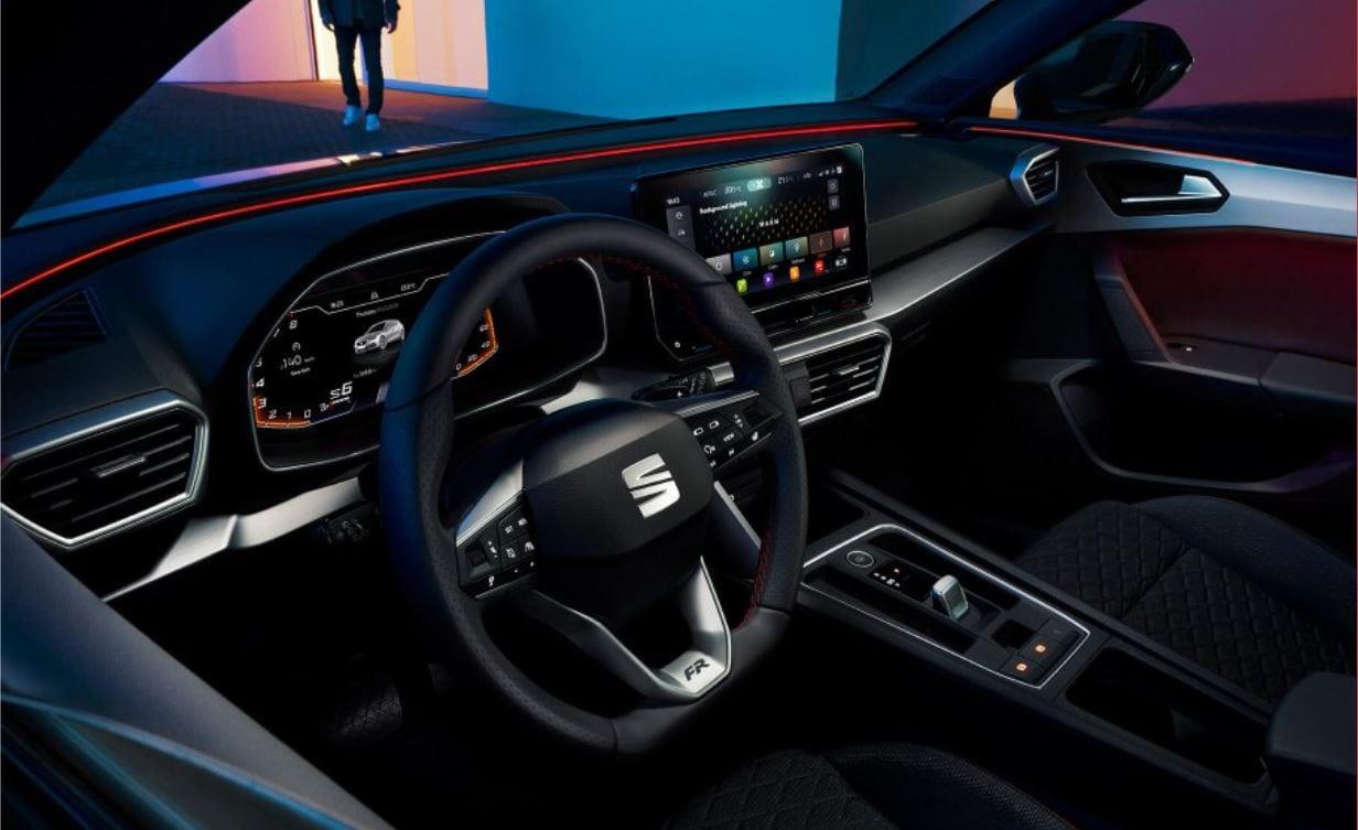 seat leon st interior